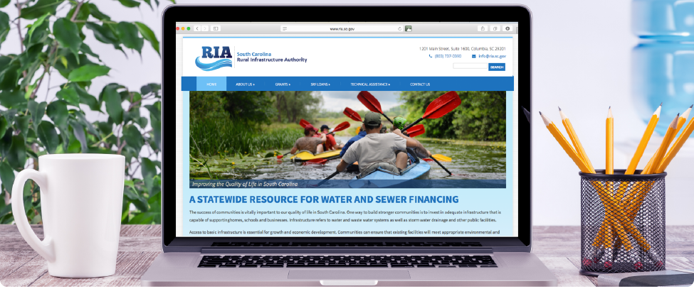 Rural Infrastructure Authority - Website and Design