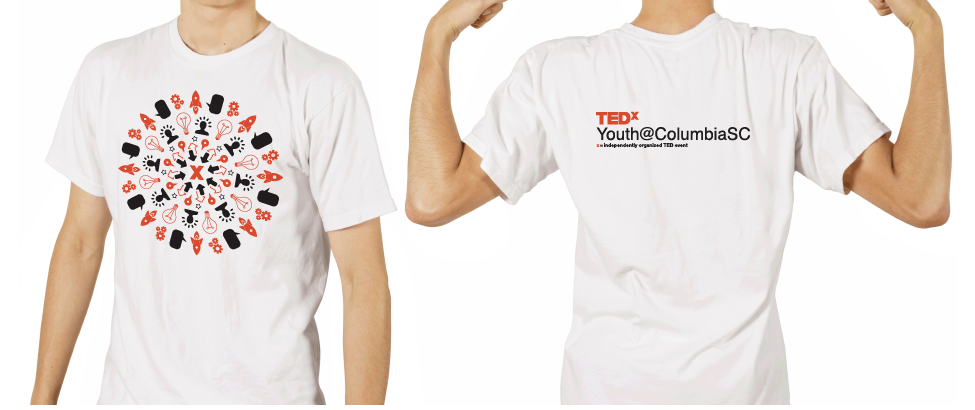 TEDx Yourh Columbia - event branding